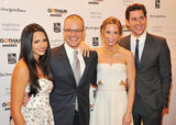 Matt Damon, Luciana Damon, Emily Blunt, and John Krasinski attended the Gotham Independent Film Awards in NYC.