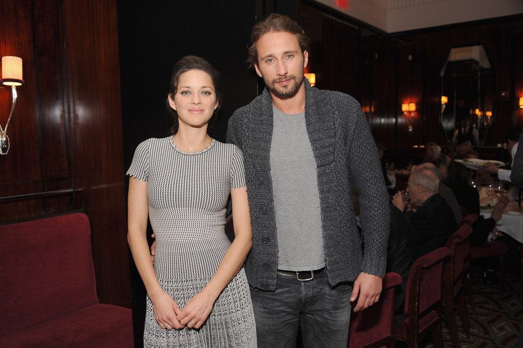 Marion Cotillard Lunches With Her Sexy Rust and Bone Co-star