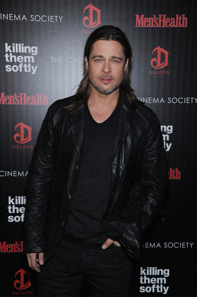 Brad Pitt Debuts Killing Them Softly to a Star-Studded NYC Crowd