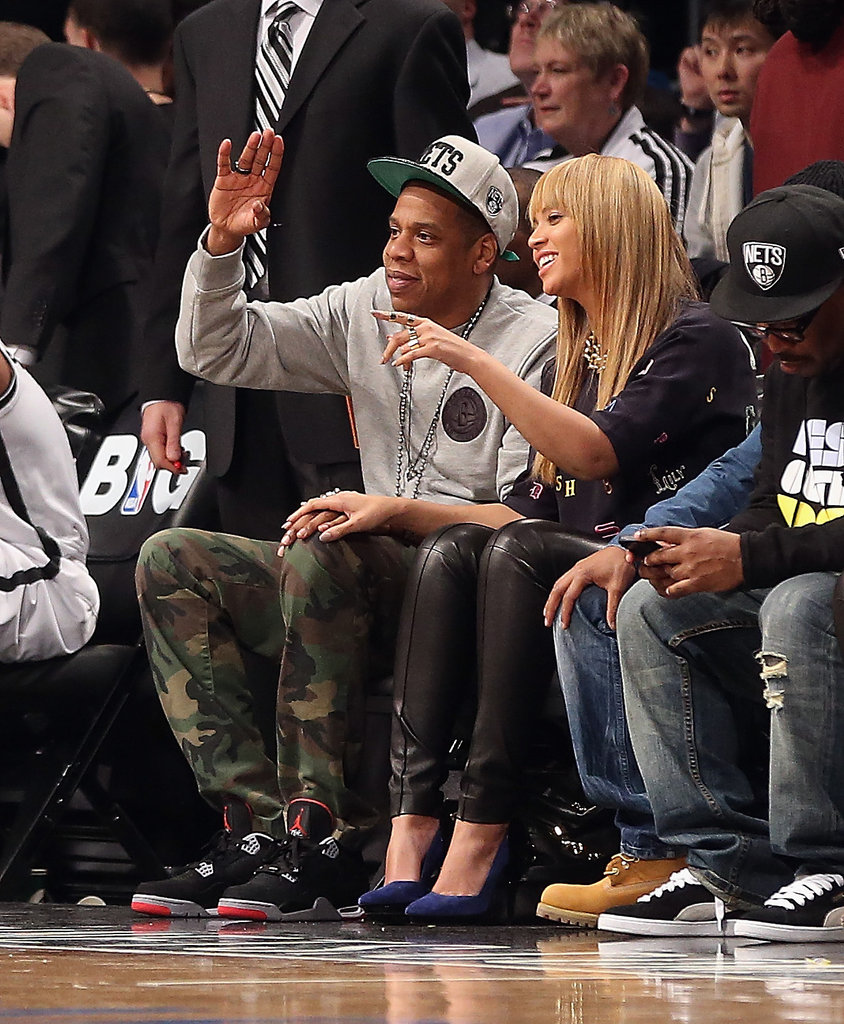 Beyonce Knowles and Jay-Z were out in NYC.