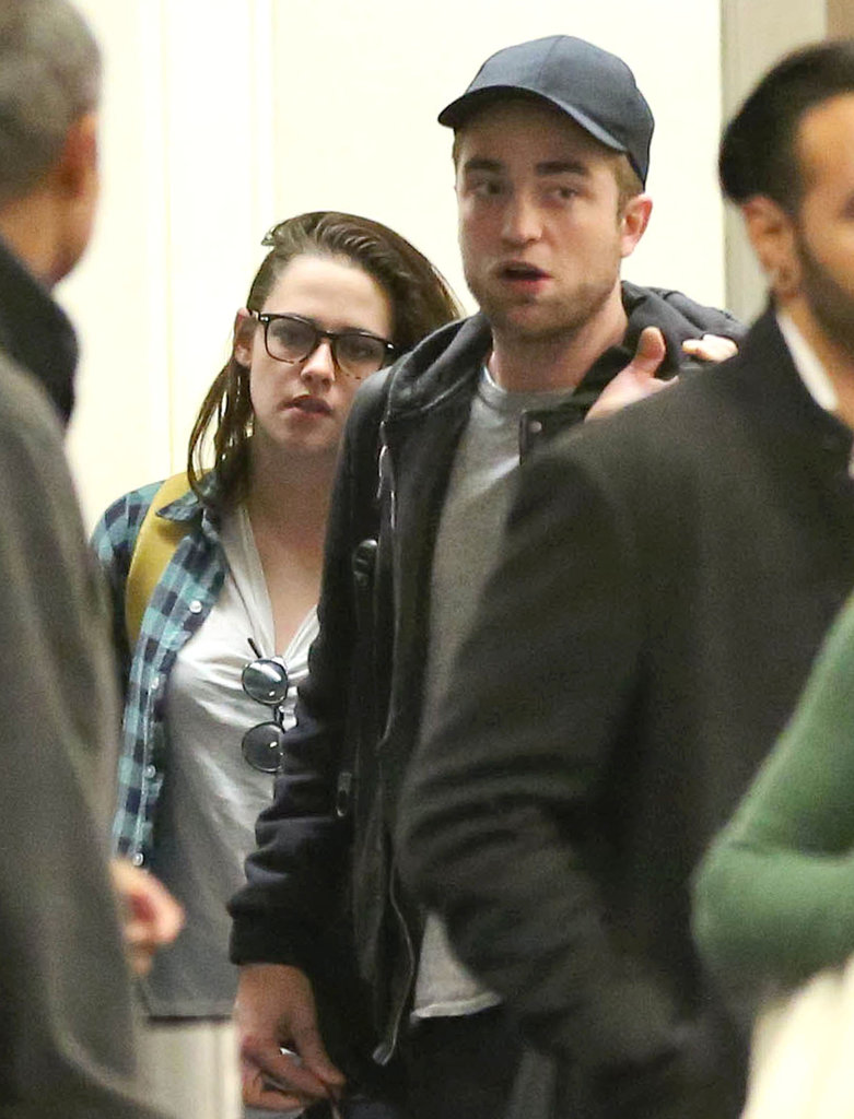 Robert Pattinson and Kristen Stewart returned to LA.