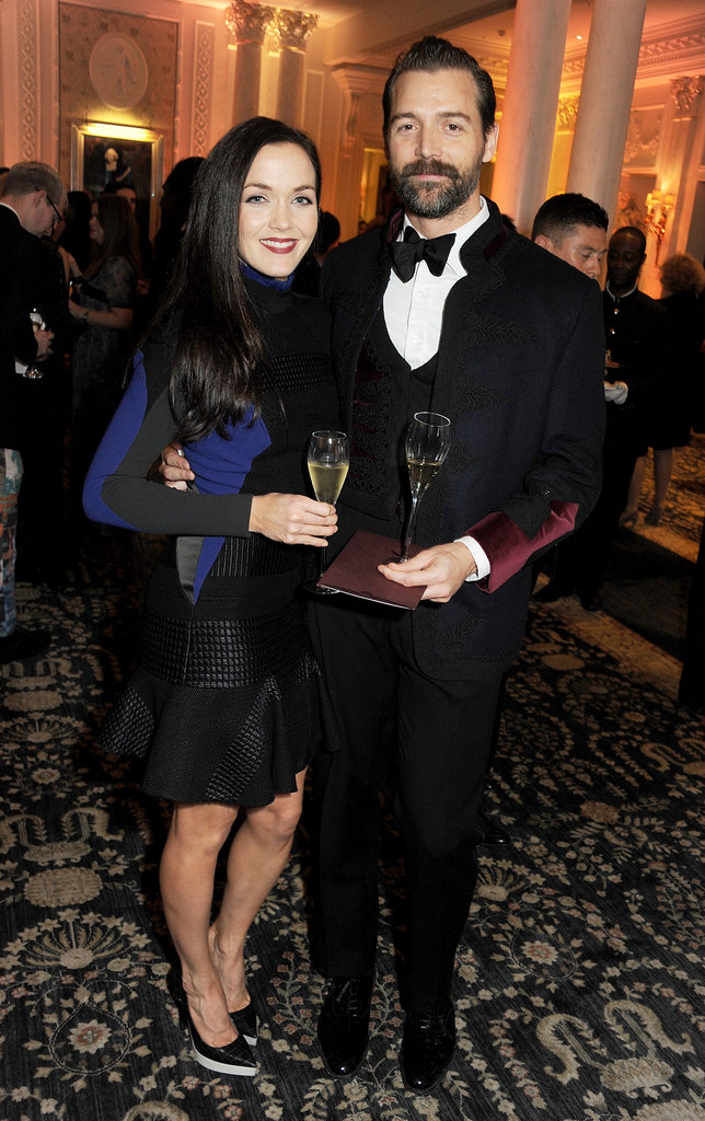 Victoria Pendleton and Patrick Grant linked up at the British Fashion Awards in London.