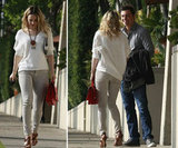 Rachel McAdams and Seth MacFarlane Meet Up in LA