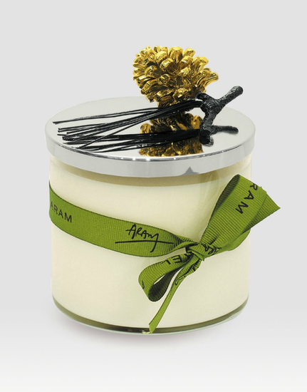A rich pine-scented candle ($45, originally $60) is both practical and festive — and after clipping and arranging fresh flowers from the other guests, your hostess will be pleased to simply light a match and set the wintry mood.