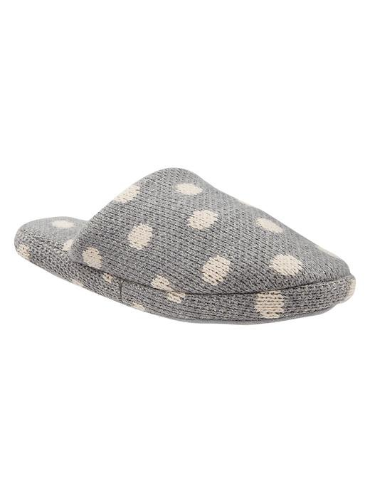 Cozy and functional — there's so much to love about Gap's Dot Slippers ($15).