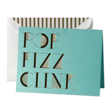 """These Kate Spade """"Pop Fizz Clink"""" Holiday Cards ($24 for 10) are so glam, you'll probably want to keep one for yourself."""