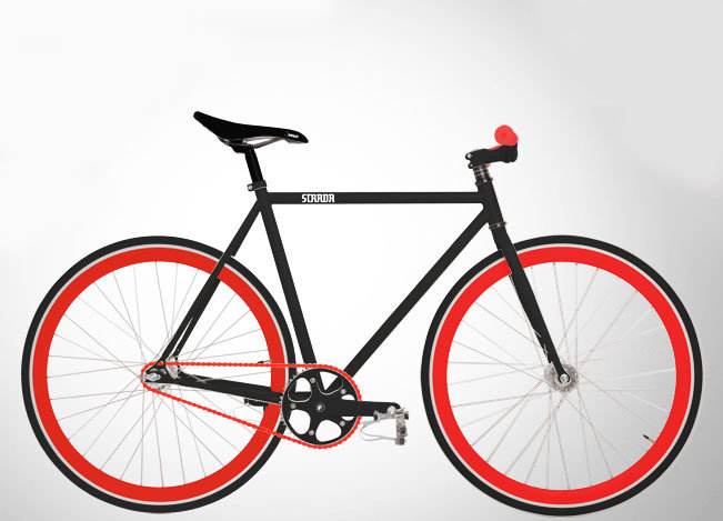 Strada has some of the coolest bikes on the block and you can customize your very own bicycle ($449) for a reasonable price. How do you like this one we put together?