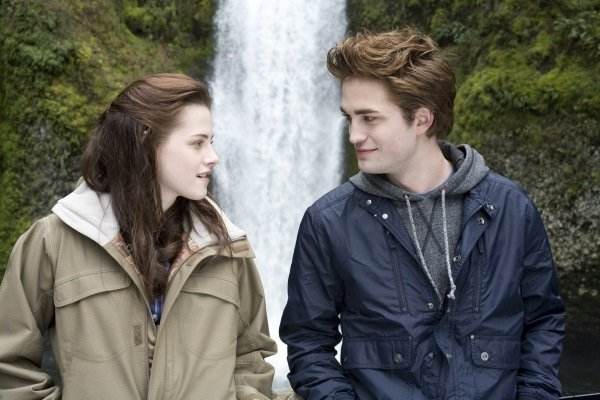 Edward and Bella, Twilight Edward, the 108-year-old virgin, finally (spoiler!) becomes a man — er van? — in Breaking Dawn Part 1 when he and Bella have the most anticipated vampire-human sex ever. And, yes, of course they're married.