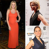 Lara Stone Shows Off her Baby Bump at the Gotham Awards