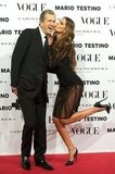 Izabel Goulart and Mario Testino