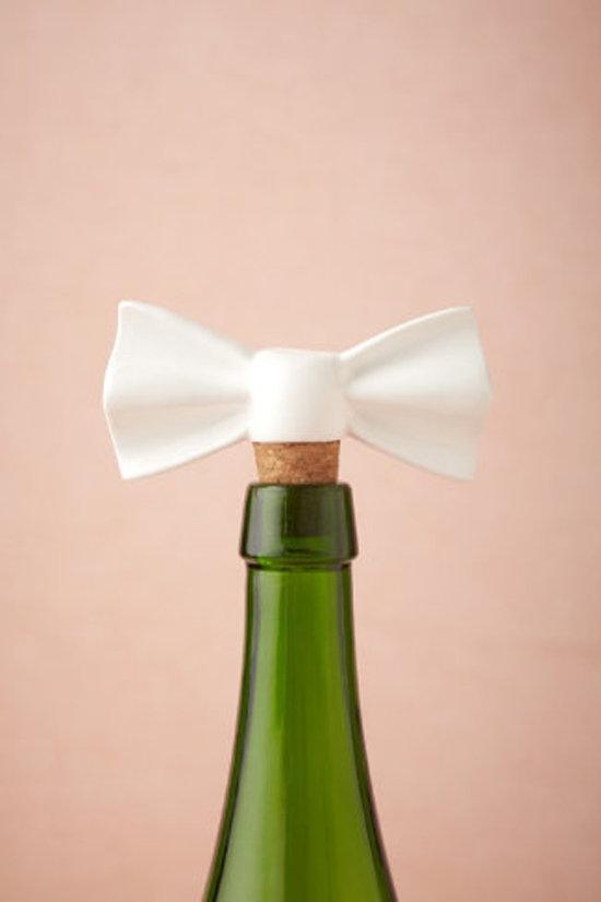 Bow Tie Bottle Stopper