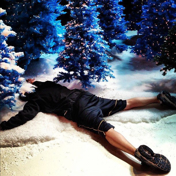 Director Adam Shankman takes a break. Source: Instagram user adamshankman