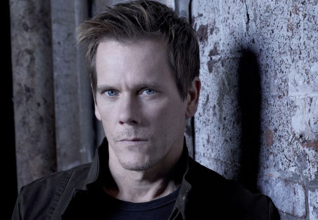 Kevin Bacon as Ryan Hardy in The Following.