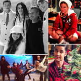 Go Behind the Scenes of Glee's Holiday Episode