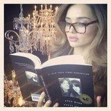Miranda Kerr read Patti Smith's memoir, Just Kids. Source: Instagram user mirandakerrverified