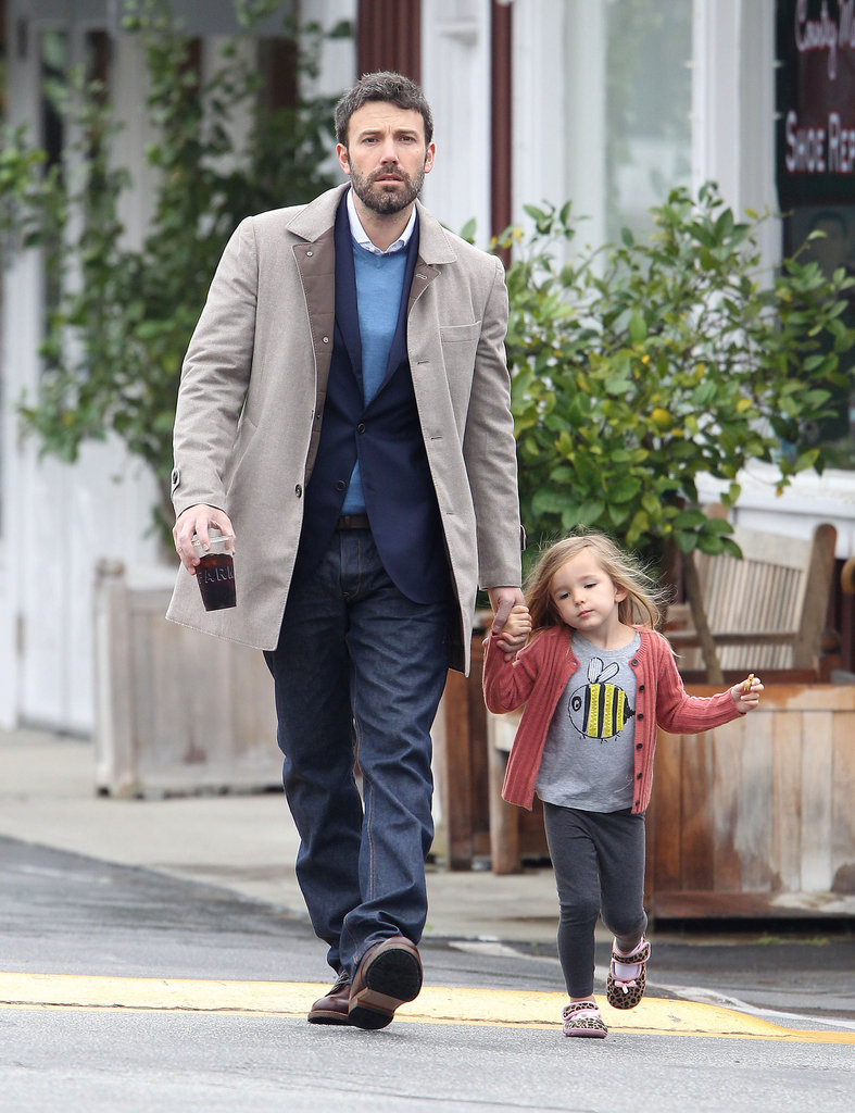 Ben Affleck and Seraphina Affleck got breakfast together in LA.