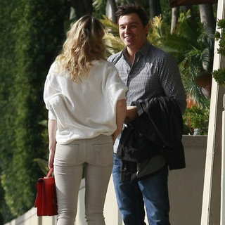 Rachel McAdams and Seth MacFarlane Meeting | Pictures