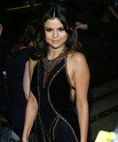 Selena Gomez wore a backless black gown at the NYC event.