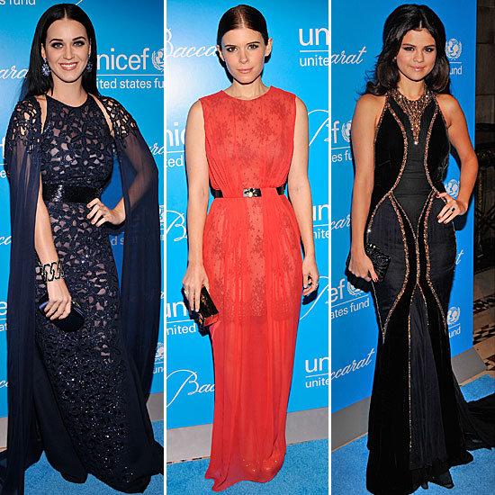 Katy Perry, Kate Mara, Selena Gomez At Snowflake Ball