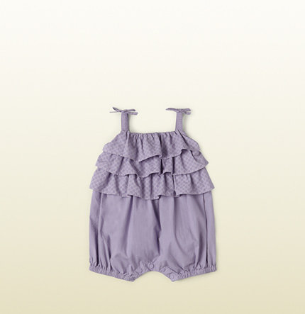 Lilac Cotton Overall ($185)