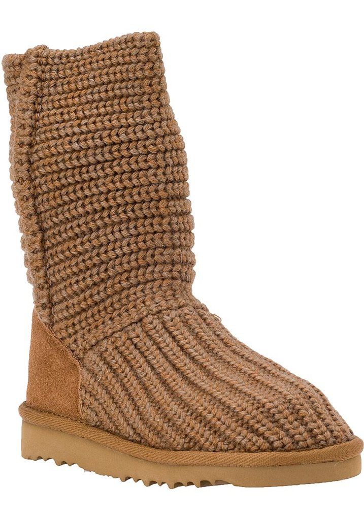 UGG Australia Kids Crochet Chestnut Boot