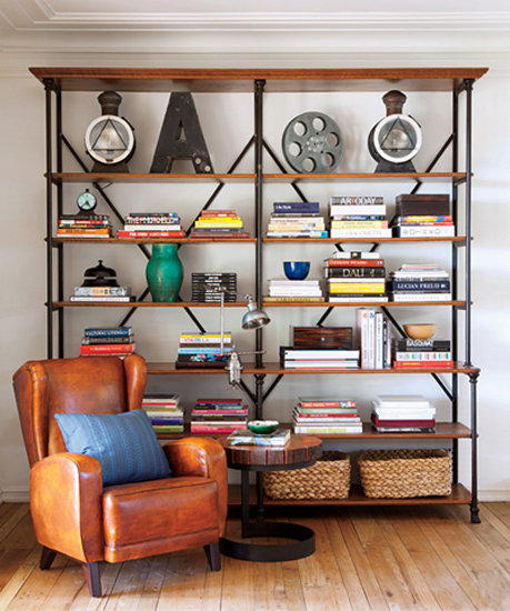 Home Design Ideas Book: Bookcase Decorating Ideas