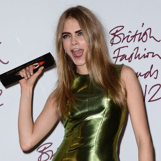 See Celebrities at the 2012 British Fashion Awards