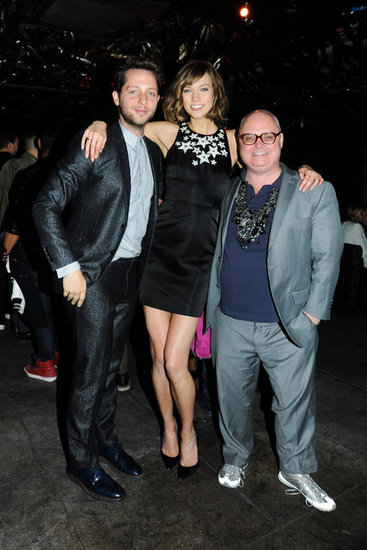 Derek Blasberg, Karlie Kloss, and Mickey Boardman