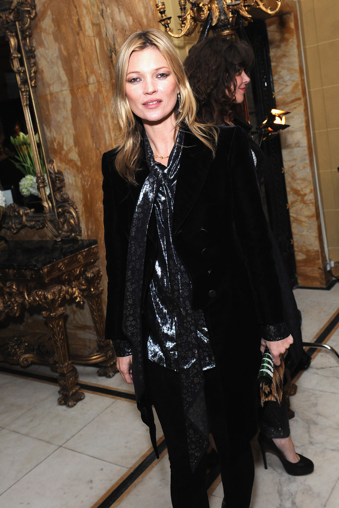 Kate Moss attended the-miumiu-london day two.