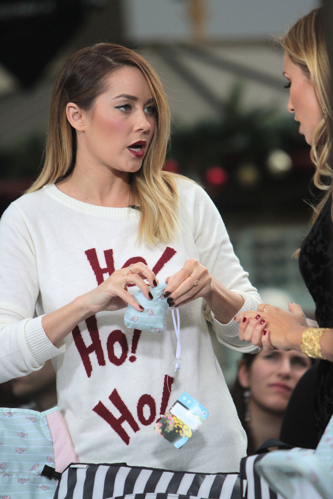 Lauren Conrad showed off her gift picks.