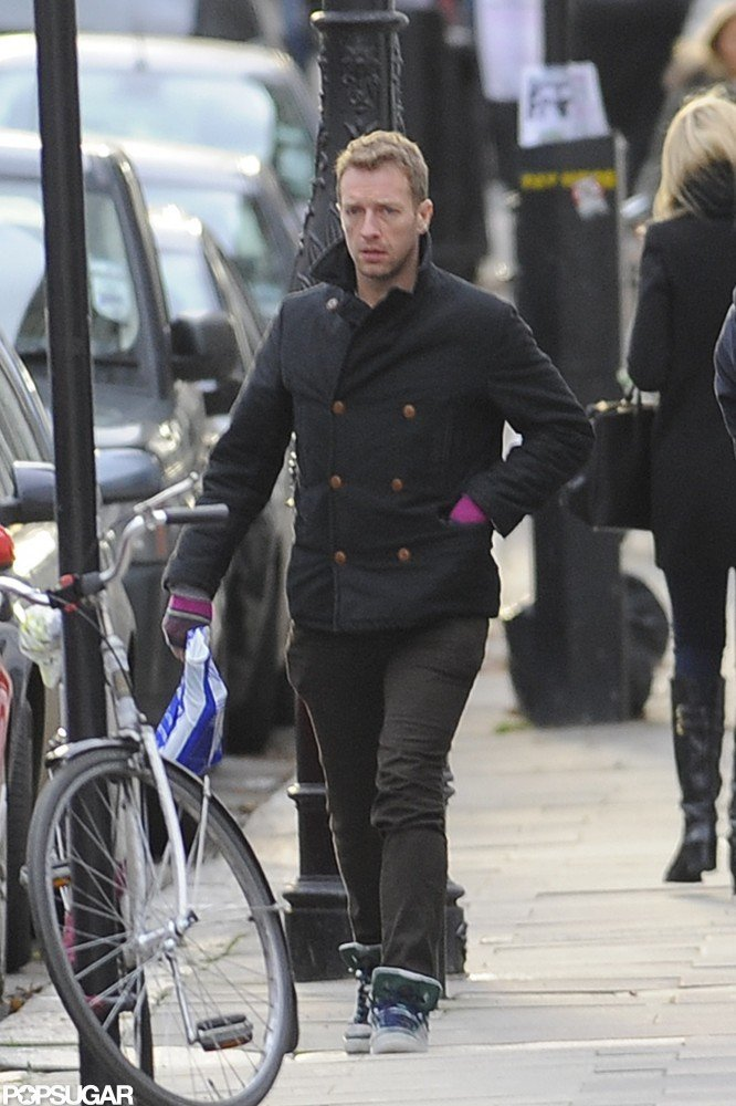 Chris Martin ran errands.