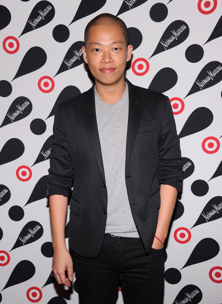 Jason Wu attended the Target and Neiman Marcus Holiday Collection launch in NYC.