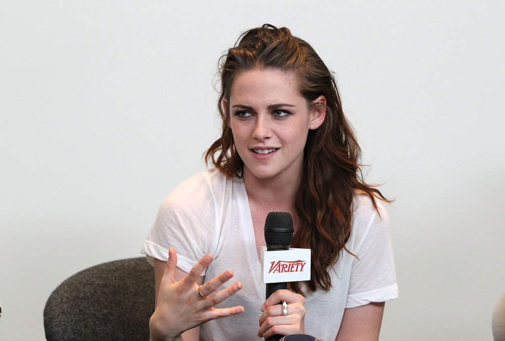 Kristen Stewart was at the Variety Studio in LA.