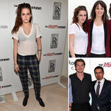 Kristen Stewart Goes See-Through to Drop By Variety's Studio