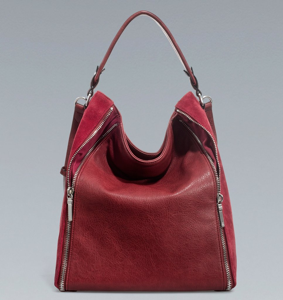 If you have a friend in the mix who can't get enough of in-season arm candy, look no further than this Zara Bucket Bag With Zips ($90). Its edgier zippered sides, slouchy shape, and wintry red hue has all the makings of a seasonal must-have accent.