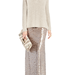 While sequined miniskirts are fabulous, this BCBGMAXAZRIA maxi skirt ($368) is equally eye-catching. It would come to life paired with everything from sweaters to tees to blouses.