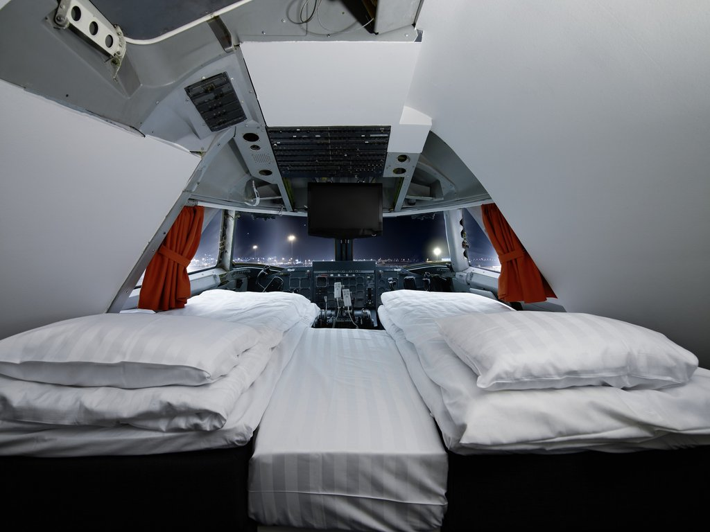 The Cockpit Suite at the Jumbo Stay Hotel — Stockholm