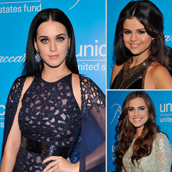Katy Perry, Selena Gomez and Allison Williams Get Glam For Unicef
