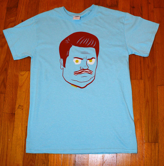 Ron Swanson Bacon and Eggs T-Shirt ($20)