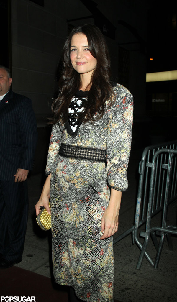 Katie Holmes was out in NYC to celebrate the opening of her play Dead Accounts.