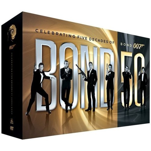 Bond 50: The Complete Blu-Ray Set