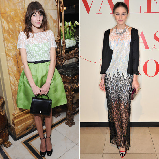 Alexa Chung and Olivia Palermo both looked fabulous at the opening of Valentino: Master of Couture. Did you vote on whose look you liked best?