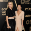 Diane Kruger, Lea Michele at Hollywood Foreign Press (Video)