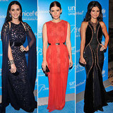 All of the celebrities were sparkling at the annual UNICEF Snowflake Ball.