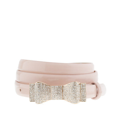 J.Crew Crystal Bow Belt