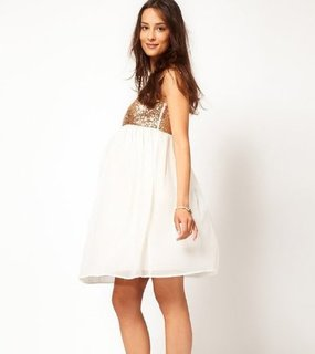 Sequined Maternity Dresses