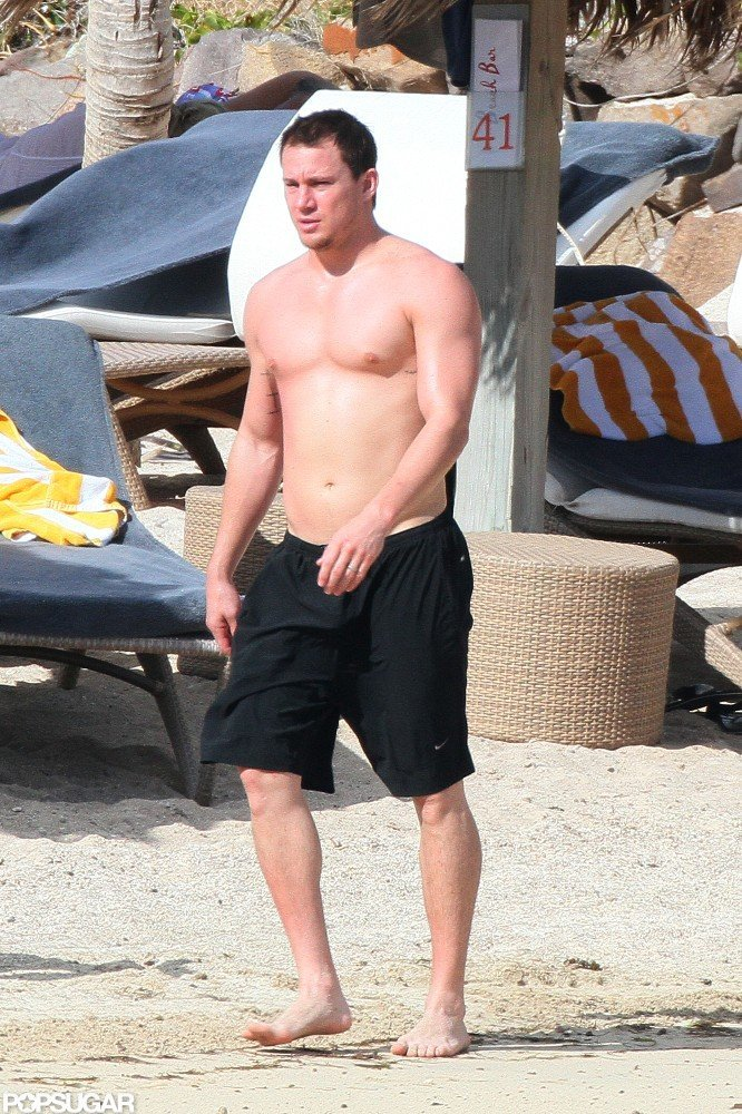Channing Tatum Snaps Photos of Pregnant and Bikini-Clad Jenna Dewan