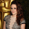 Kristen Stewart Pictures in Sheer Talbot Runhof Dress