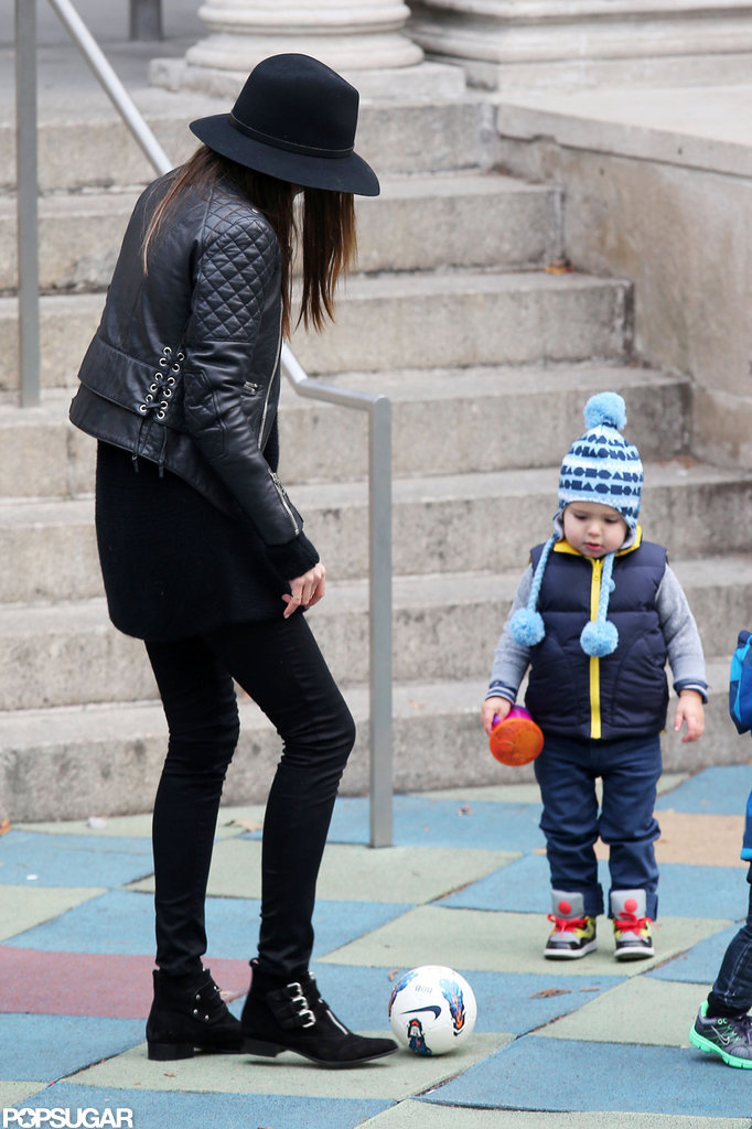 Miranda Kerr and Flynn Soak Up Their Final Adorable NYC Park Day