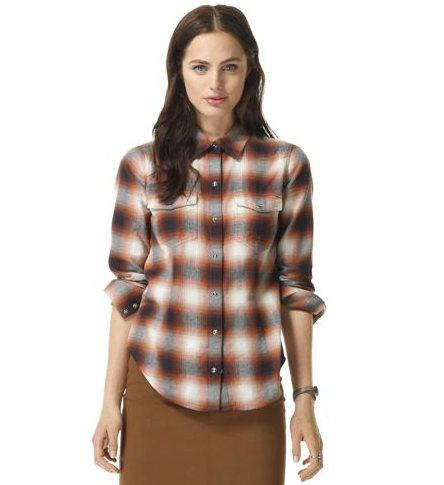 If you're a loyal prepster, you can never have enough plaid. Thus, here's one more plaid button-up shirt to add to your collection, courtesy of Club Monaco's Celeste shirt ($69, originally $120).